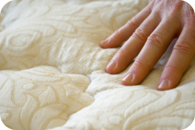 Wool and latex mattress toppers